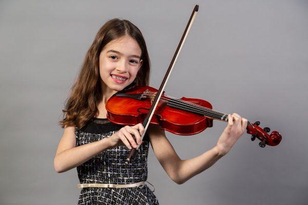 Violin Student in Jenison