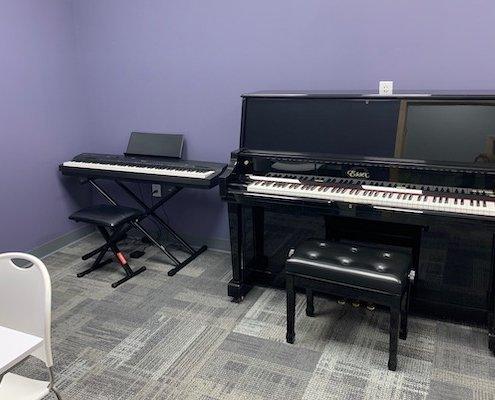 Jenison High Tech Piano Room